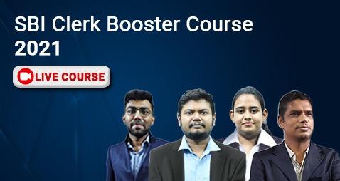 SBI Clerk Booster Course - 2021